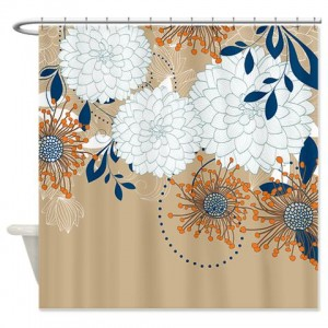pretty mums 05 shower curtain