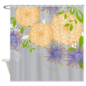 Arts And Crafts Shower Curtain African Inspired Shower Curtain