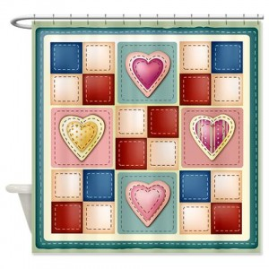 Quilt Square 012 Shower Curtain