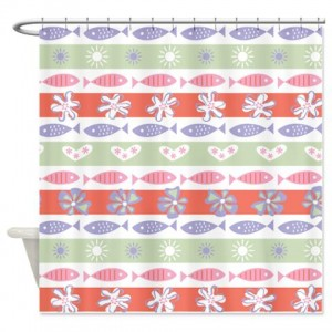 Tropical Fish 1 Shower Curtain