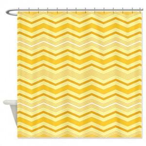 zigzag 32 Shower Curtain