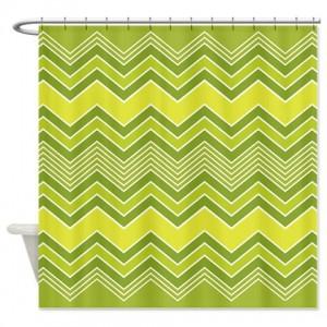 zigzag 35 Shower Curtain