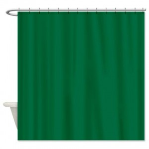 Cadmium Green Shower Curtain