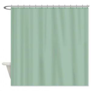 Cambridge Blue Shower Curtain