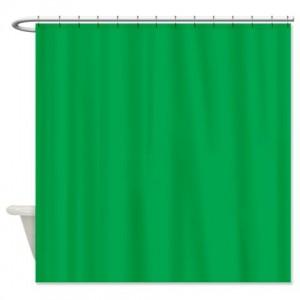 Green2 Shower Curtain
