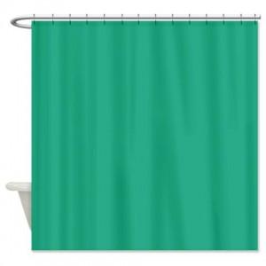 Jungle Green Shower Curtain