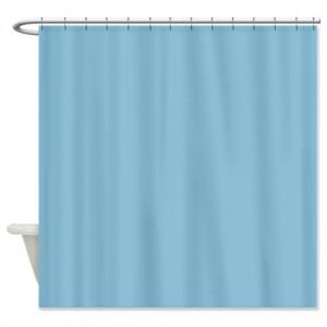 Pantone Sky Blue Shower Curtain
