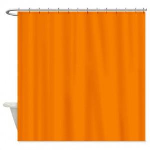 University Of Tennessee Orange Shower Curtain