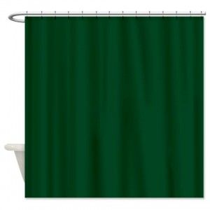 White Cotton Eyelet Curtains Rainforest Shower Curtain