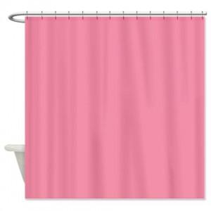 Vanilla Ice Pink Shower Curtain