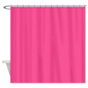 Violet Red Pink Shower Curtain