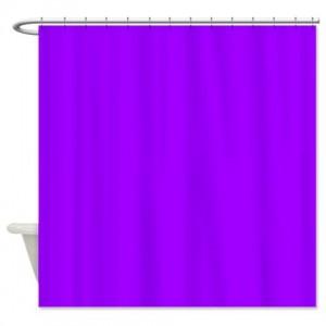 Vivid Violet Shower Curtain