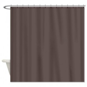 Wenge Shower Curtain