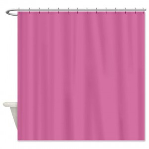 Wild Orchid Pink Shower Curtain