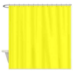 Yellow 1 Shower Curtain
