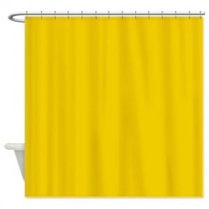 Yellow 5 Shower Curtain
