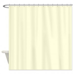 Yellow Light 1 Shower Curtain