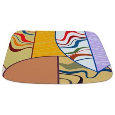 Abstract Art 21 Bathmat