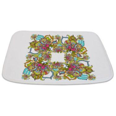 Abstract Floral 2 Bathmat