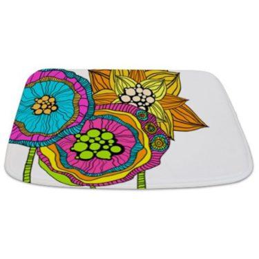 Abstract Floral 5 Bathmat