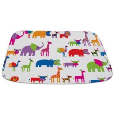 animals on parade Bathmat