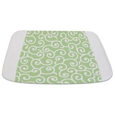 Batik 2a Green Bathmat