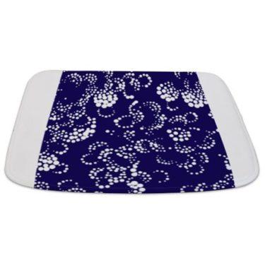 Batik 2b Blue Bathmat