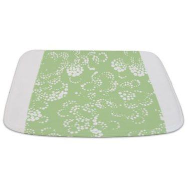 Batik 2b Green Bathmat