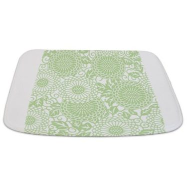 Batik 2c Green Bathmat