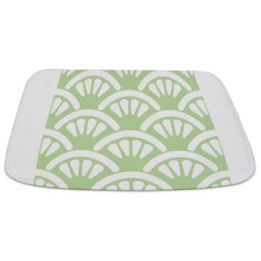 Batik 2d Green Bathmat