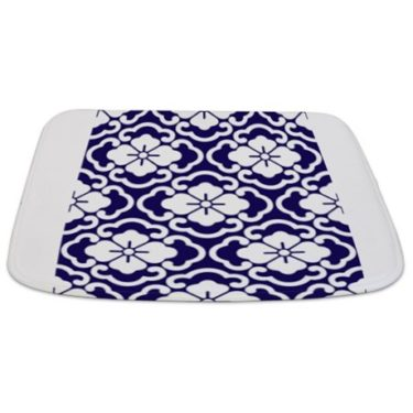 Batik 2e Blue Bathmat