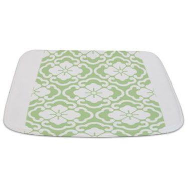 Batik 2e Green Bathmat