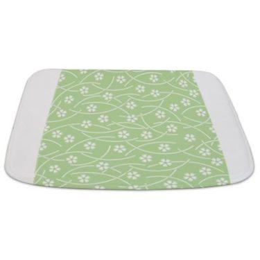 Batik 2f Green Bathmat