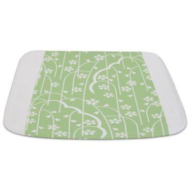 Batik 2g Green Bathmat