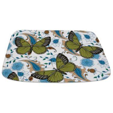 Butterflies 1 Bathmat