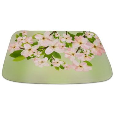 Cherry Blossoms 1 Bathmat