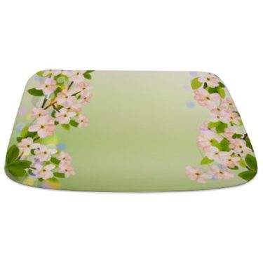 Cherry Blossoms 2 Bathmat