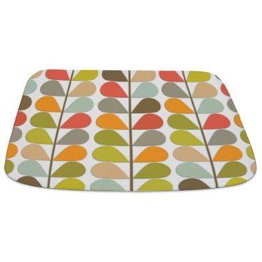 Colorful Fern Bathmat