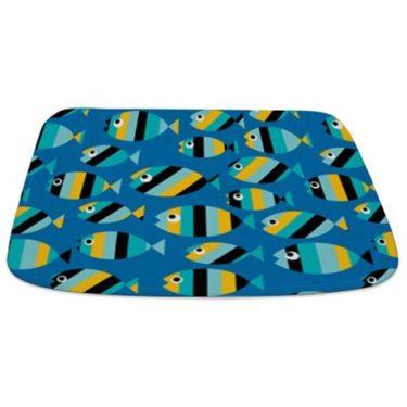 fish pattern 2 Bathmat