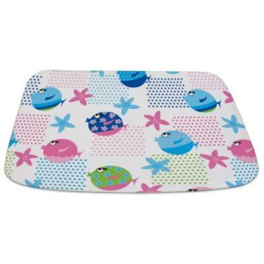 fish pattern 9 Bathmat