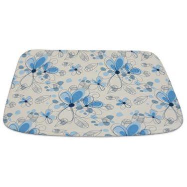Floral Background 1 Bathmat