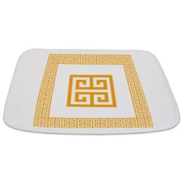 Greek Key pattern 2 Bathmat