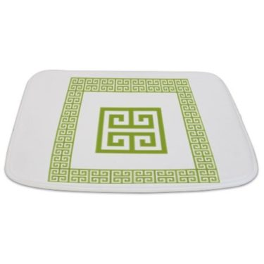 Greek Key pattern 3 Bathmat