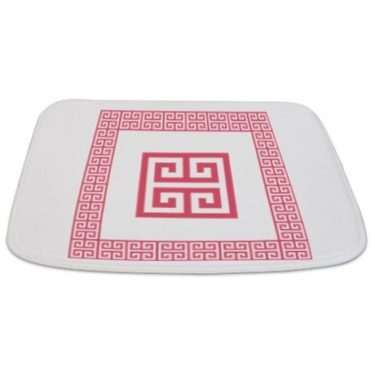 Greek Key pattern 5 Bathmat