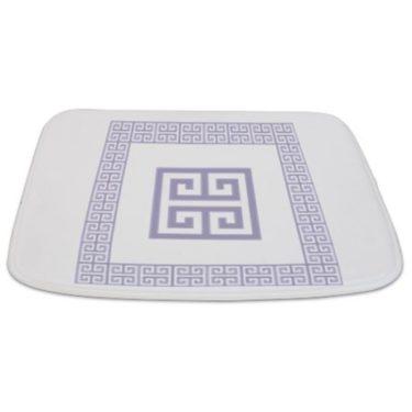 Greek Key pattern 6 Bathmat