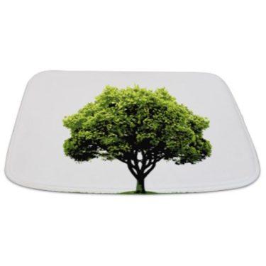 Green Tree Bathmat