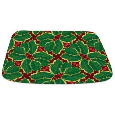 Holly Pattern Bathmat