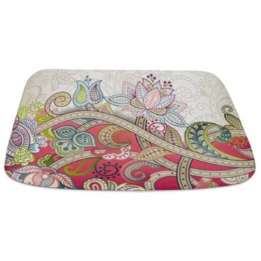Indian Ham Floral Print 4 Bathmat
