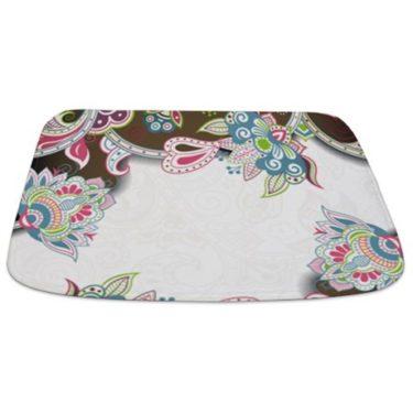 Indian Ham Floral Print 5b Bathmat