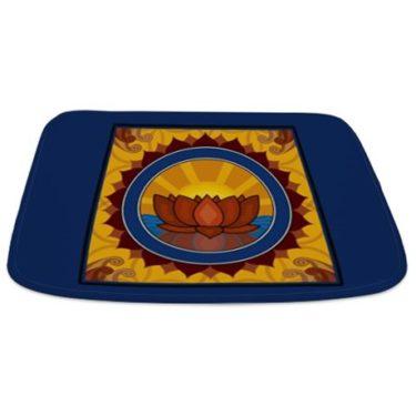 Lotus Reflection Bathmat